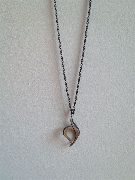 custom made necklace with the disorder recovery