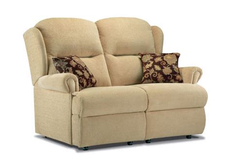 Small 2 Seater Recliner Sofa by Sherborne Malvern 3 Seater Fixed Sofa Cardiff And Swansea