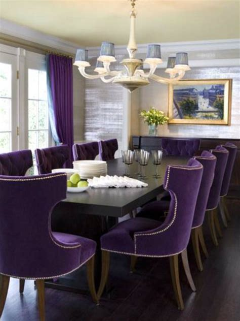 purple dining rooms 6 timeless loft dining chairs a 2015 home decor trend