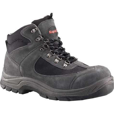 chaussures de s 233 curit 233 hautes kapriol nebraska coloris gris t42 leroy merlin