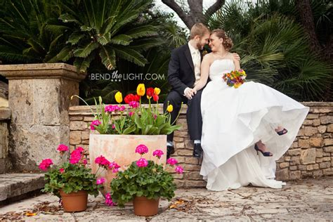 David Chelsea Parker Chapel Wedding Ceremony Trinity San Antonio Botanical Garden Wedding