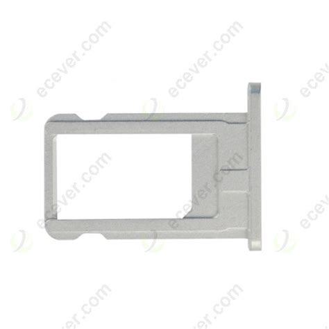 Sim Tray Iphone 6 Original Oem oem sim card holder tray silver white for iphone 6