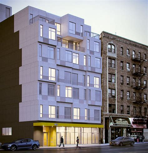 nyc s prefabricated apartment building rises in