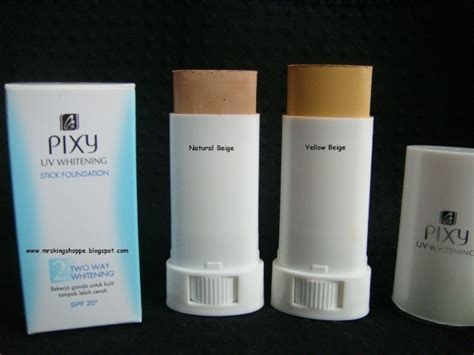 Bedak Pixy Yang Pink she is najihah review pixy stick foundation