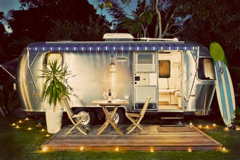 airbnb airstream does a smokin neighborhood vintage airstream trailer