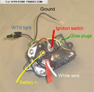 1996 7 3 Powerstroke Glow Plug Relay Location 7 3 Starter Relay Wiring 7 Free Engine Image For User
