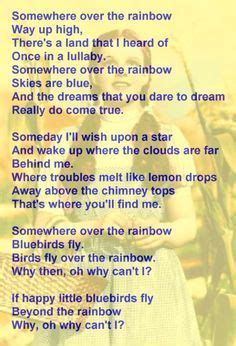 testo the rainbow 1000 images about somewhere the rainbow on
