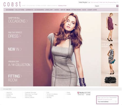 design net clothes 35 inspirational fashion website designs webdesigner depot