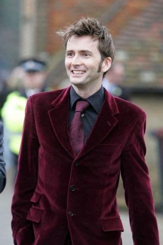 david tennant velvet suit red velvet suit only david tennant could pull that off
