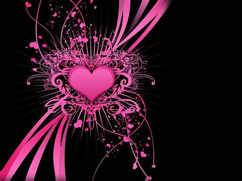 cool wallpaper love heart fond ecran coeurs page 4