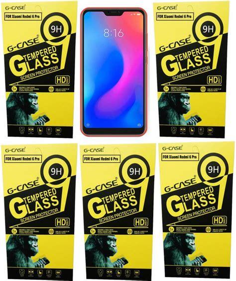 case tempered glass guard  mi redmi  pro  case