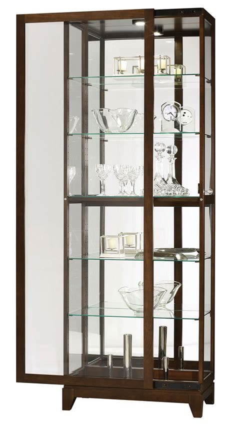 curio with sliding glass door curio cabinets five glass shelf sliding door