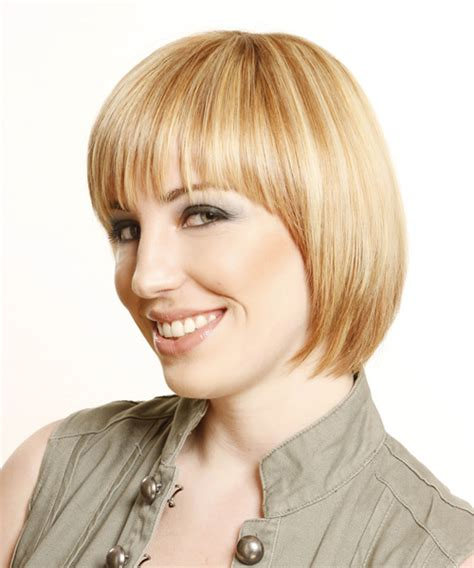 formal hairstyles layered hair short straight formal bob hairstyle with layered bangs