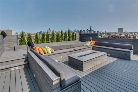 rooftop pit bucktown rooftop contemporary deck new york by