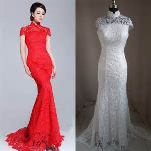 popular white cheongsam wedding dress buy cheap white