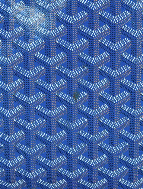 blue patterned u logo goyard voltaire tote bags goy20430 the realreal