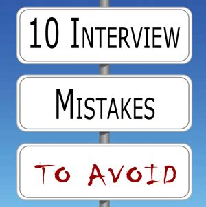 10 Mistakes To Avoid When 10 Mistakes You Should Avoid During The Process