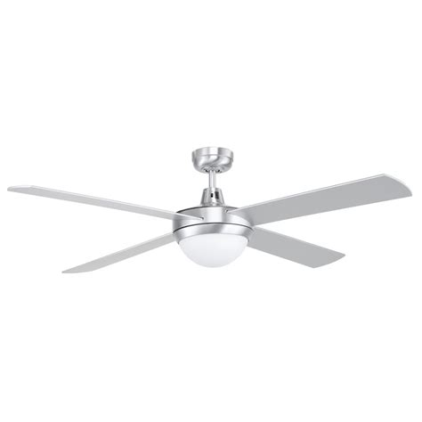 Bunnings Ceiling Fans With Lights Fan Ceiling W Lght Contempo Ii 18w X 2 Silver 99894 13 Bunnings Warehouse Home