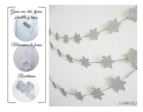 estrella de goma eva y purpurina para decorar el arbol de navidad estrellas de goma eva diy diy pinterest goma eva
