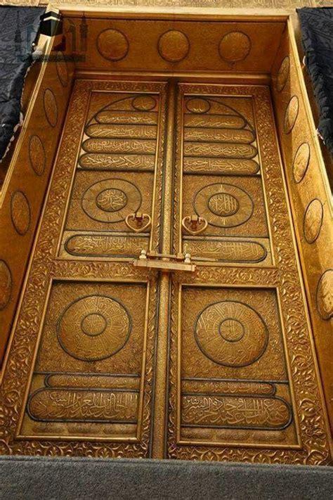 detailed picture   kabah door masjid al haram