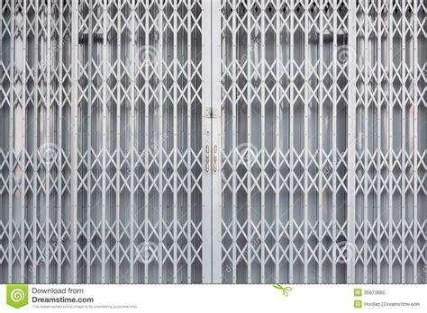 Garage Gate Designs steel sliding door stock image image of rusty close