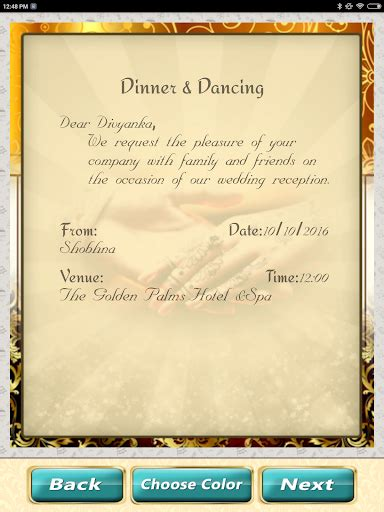 wedding invitation computer software wedding invitation cards maker marriage card app