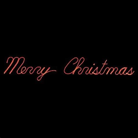 merry christmas led sign holliday