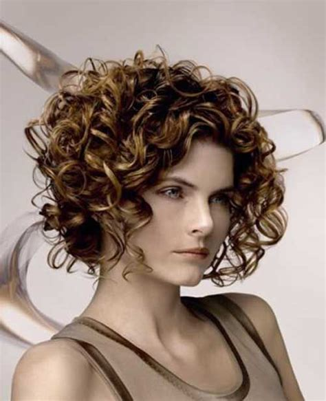 images for stacked curly bob short curly a line bob