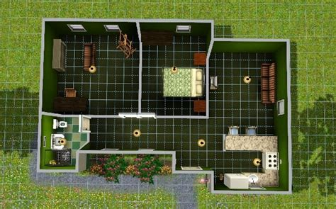 sims 3 starter house plans simple starter home for a sim sims house ideas pinterest