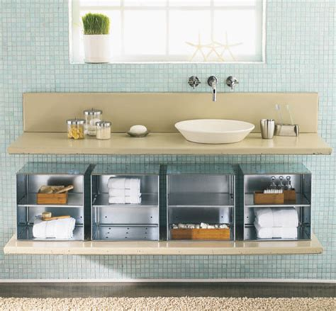Bathroom Storage Ideas Sink by Modern The Sink Bathroom Storage