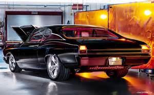 Chevrolet Chevelle Concept Chevy Chevelle Slammer Concept Revealed At Sema