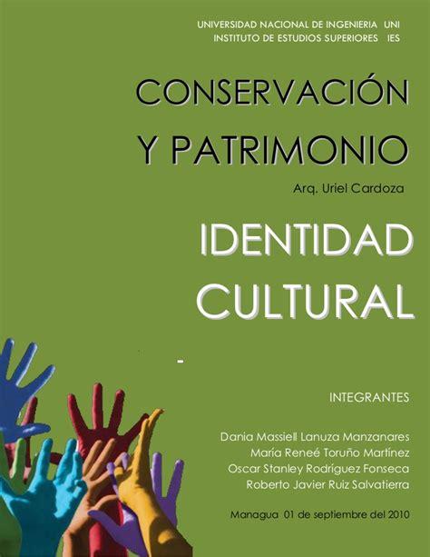 la identidad cultural no 843061916x identidad cultural pdf 1