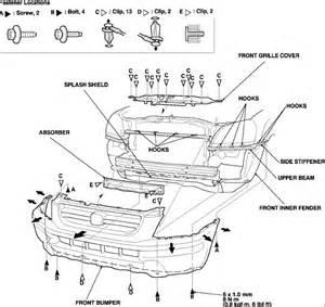 2005 Honda Pilot Parts Diagram 2005 Honda Pilot The Entire Headlight Assembly On Both Sides