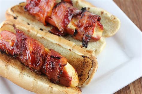 are dogs precooked bacon wrapped cheese stuffed dogs recipe cooking and recipes