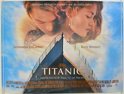 titanic film uk certificate titanic original cinema movie poster from pastposters