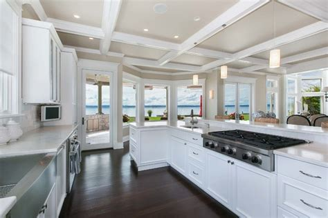 coastal kitchen design coastal kitchen designs maxton builders