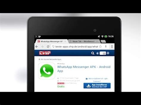 whatsapp tutorial deutsch tutorial whatsapp auf android tablet installieren