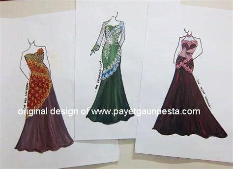 sketsa design gaun malam gambar desain gaun pesta muslim blog images