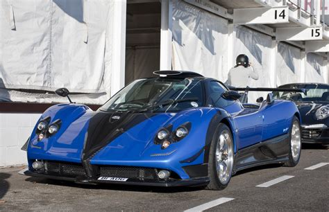 blue pagani zonda pagani zonda ps de make over in beeld autoblog nl
