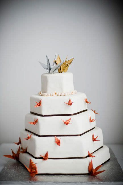 Origami Wedding Cake - 17 best ideas about origami cranes on origami