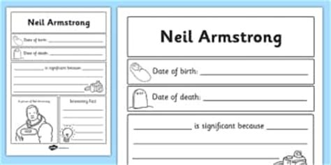 biography of neil armstrong ks2 neil armstrong primary resources significant page 1
