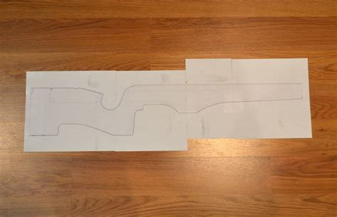 rifle stock template building a custom rifle stock 1