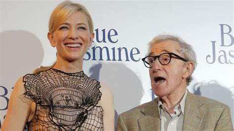 cate blanchett woody allen woody allen blue jasmine france premiere with cate
