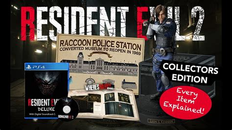 Resident Evil 2 Collectors Edition ALL DETAILS | North ... Gamestop Ps4 Pro Bundle
