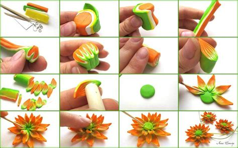 how to make clay for crafts 20 diy beautiful polymer clay flower step by step