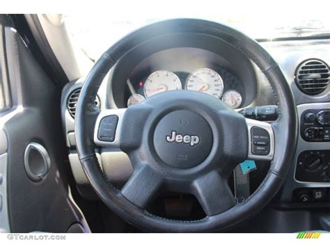 jeep liberty steering wheel 2002 jeep liberty limited taupe steering wheel photo