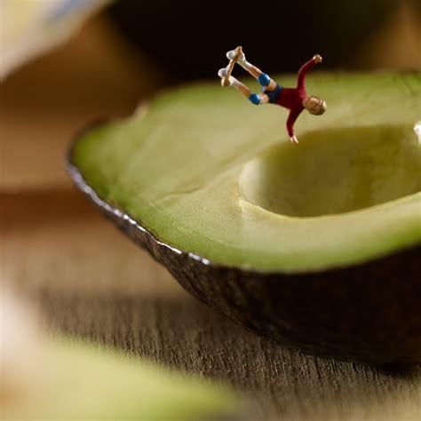 monde miniature dans des contextes culinaires chambre