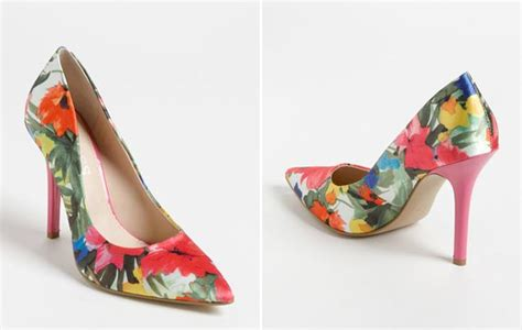 Betsey Johnson Home Decor by Wedding Shoes Floral Heels
