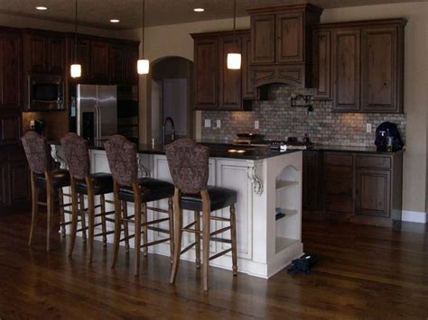 kitchen decorating ideas dark cabinets the wall the wood flooring in the kitchen decorating above kitchen