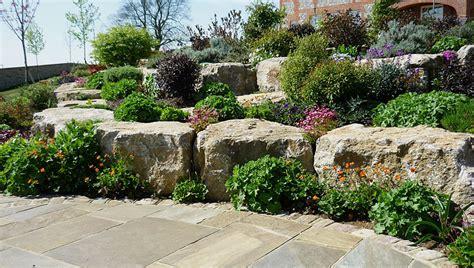 Garden Rockery Ideas Rockery Retaining Schemes And Ideas Landscape Garden Designers Reading Berkshire Pete Sims